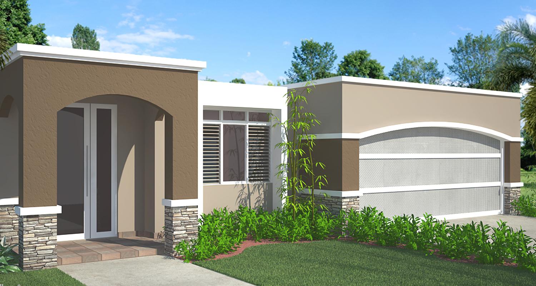 Fachadas de casas modernas en puerto rico planos de casas for Casas prefabricadas modernas