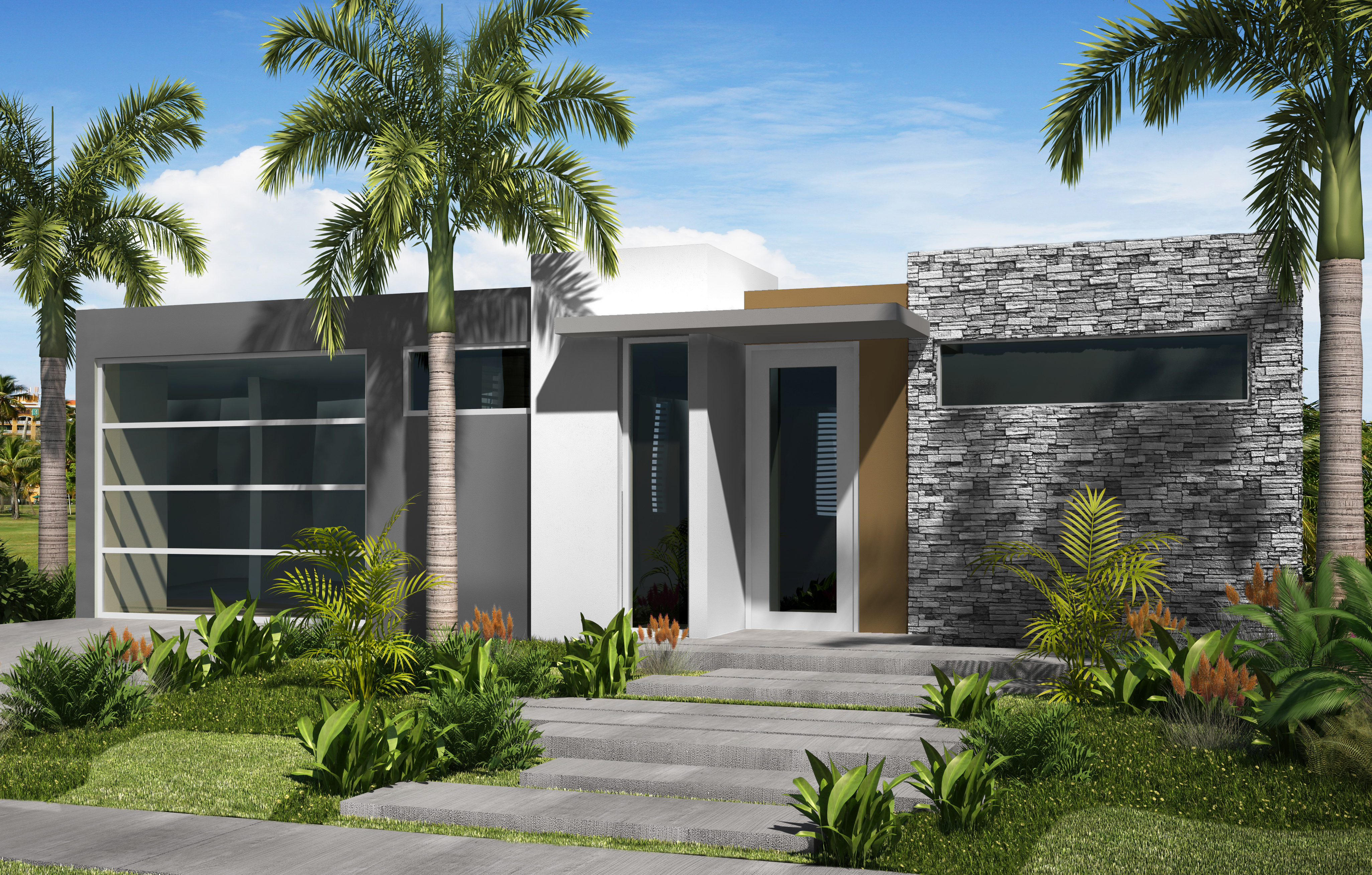 Casas modelos puerto rico pictures to pin on pinterest for Casa modernas