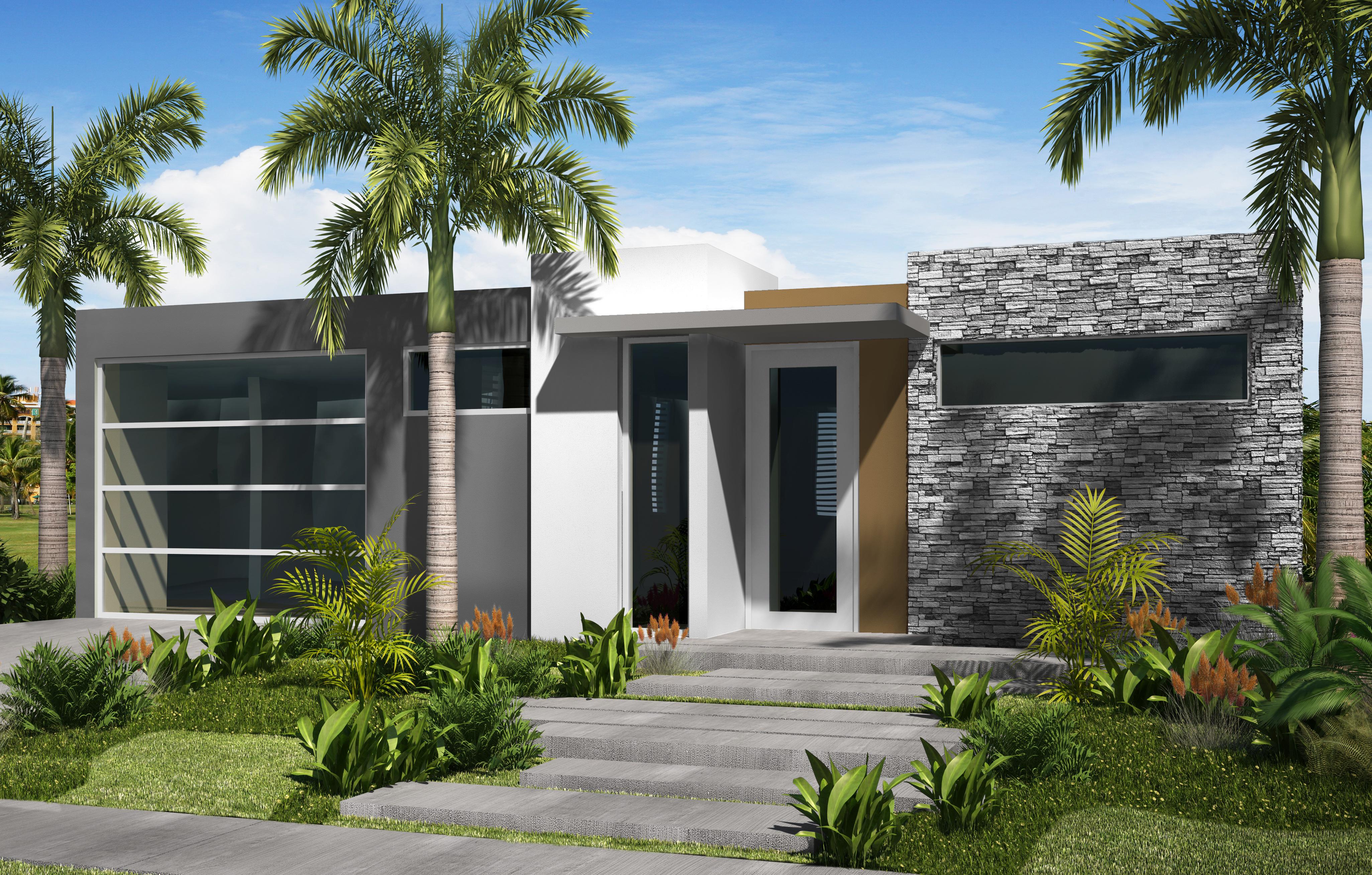 Modelo perla casa bellacasa bella for Casas modernas terreras