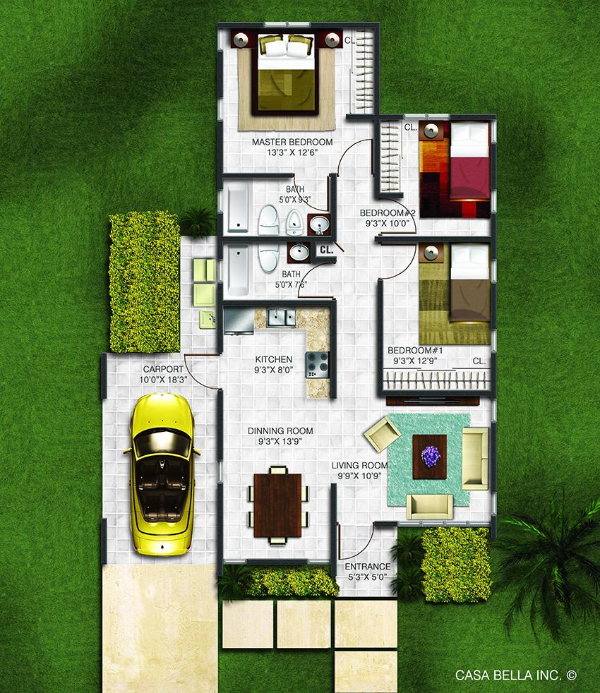 planos de casas terreras